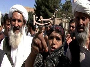 تظاهرات خانواده هاي محبوسين هرات
