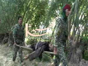 عكس كماندو - کشتن طالبان