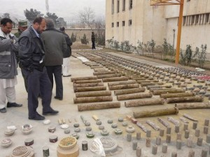 Afghan police recovered ammunition in Baghlan