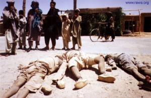 كشته وزخمي شده گان ولايت  بادغيس