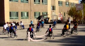 مسابقات باسكتبال معلولين درهرات