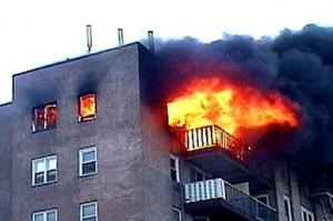 آتش سوزی درفراه