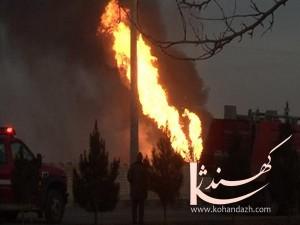 آتش سوزی - کهندژ