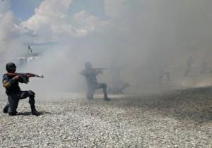عملیات مشترک نیروهای امنیتی افغان درپشت کوه فراه