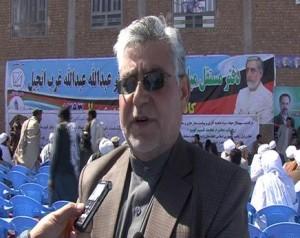 غلام ناصرخاضع مسئول عمومی ستاد داکترعبدالله عبدالله درولایت هرات