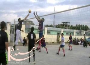 والیبال دربادغیس