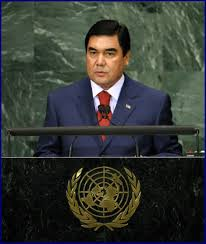 قربانقلی بردی محمد اف رئیس جمهور کشور ترکمنستان
